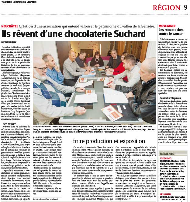 Article de L'Express du 30/11/2012